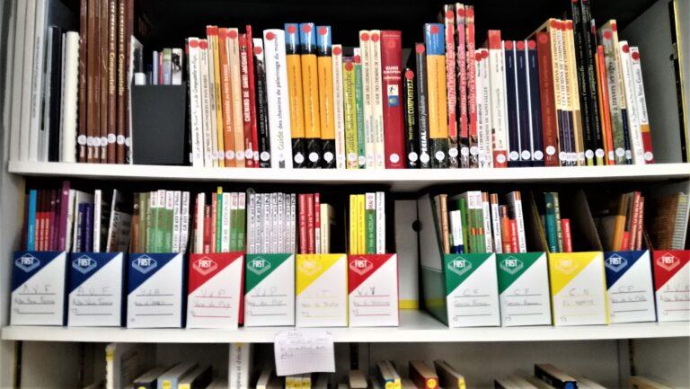 Bibliothèque du gîte